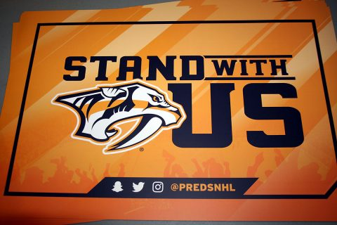 City of Clarksville invites Predators fans to join Game 7 festivities at Wilma Rudolph Event Center, Thursday.