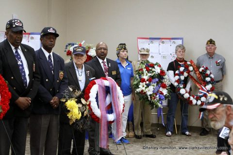 Clarksville-Montgomery County hosted its annual Memorial Day Ceremony at the William O. Beach Civic Center.