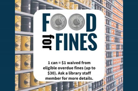 Clarksville-Montgomery County Public Library brings back Food for Fines.