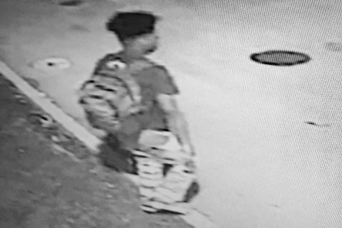 Clarksville Police are looking for the person in this photo in connection to the theft of a Kia Forte at a convenience store on Providence Boulevard.
