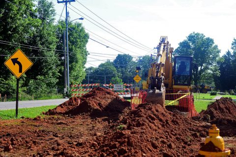 With construction underway at the intersection of Edmondson Ferry Road and the U.S. Highway 41A Bypass, portions of Edmondson Ferry have been closed. Detour signs will be posted and citizens are encouraged to allow for extra time when traveling the area.