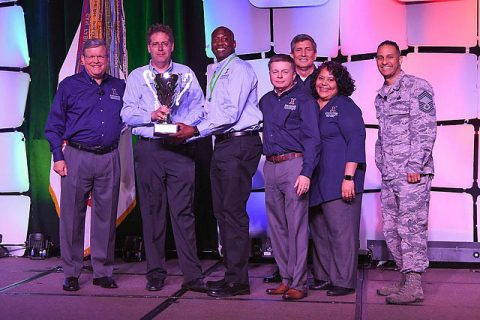 The Fort Campbell Exchange awarded the Director/CEO Cup by the Army & Air Force Exchange Service's highest honor.