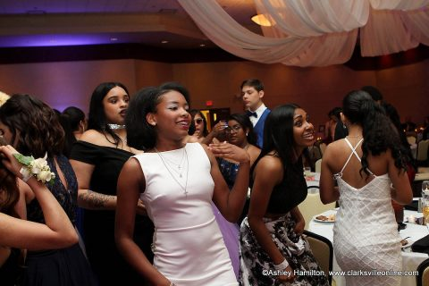 About 300 students from Kenwood High School celebrated Prom 2018 at Valor Hall in Oak Grove, Kentucky