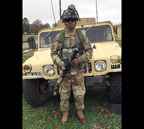 Combat Engineer, Sgt. 1st Class Marc Jankovich. (U.S. Army Warrior Care and Transition)