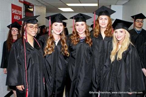 Middle College at Austin Peay State University held it's 10th commencement ceremony in the APSU's Dunn Center.