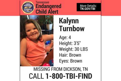 Missing Child - Kalynn Turnbow