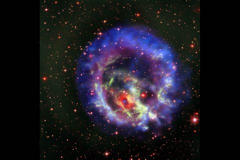 (Credits: X-ray (NASA/CXC/ESO/F.Vogt et al); Optical (ESO/VLT/MUSE & NASA/STScI))