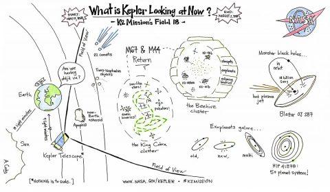 NASA's Kepler spacecraft campaign. (NASA/Ames Research Center/Ann Marie Cody)