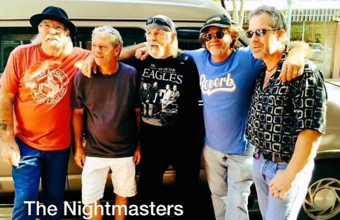 The Nightmasters kick off the 2018 Jammin in the Alley Concert Series June 1st. (Katrina Pryor Photography)
