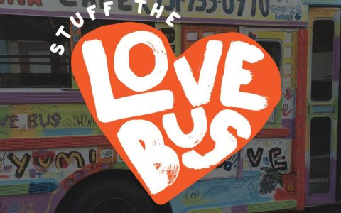 Stuff the Love Bus food drive for Manna Café Ministries to be held Saturday, May 5th