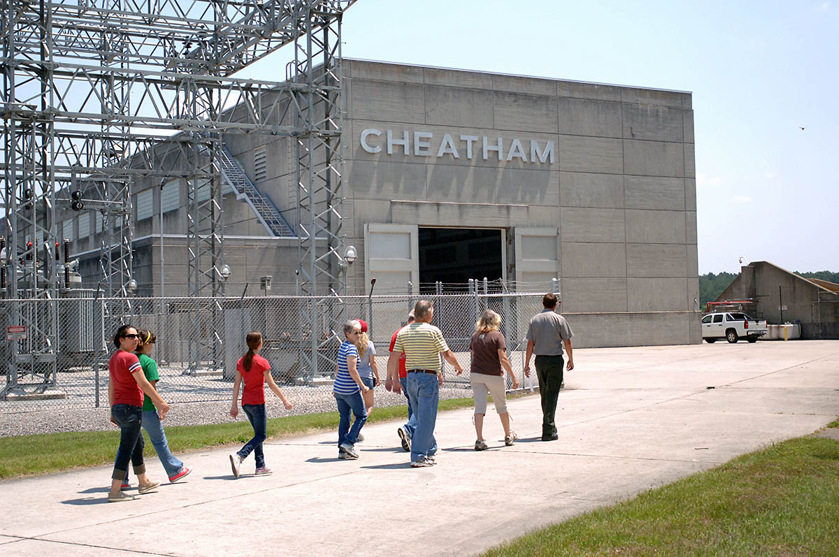 The U.S. Army Corps of Engineers Nashville District invites the public for a free tour of Cheatham Lock, Dam and Hydropower Plant in Ashland City, Tennessee. Free tours for the general public are Saturday, July 21st; and Saturday, September 8th. (Leon Roberts)