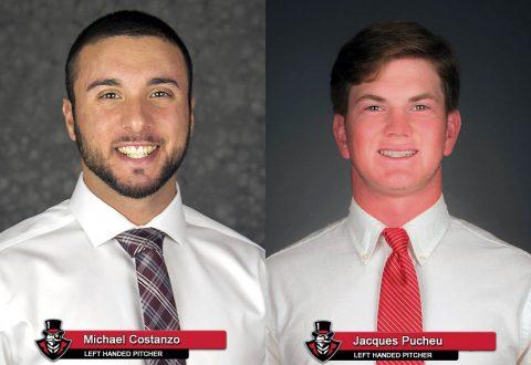 2018 APSU Baseball - Michael Costanzo and Jacques Pucheu
