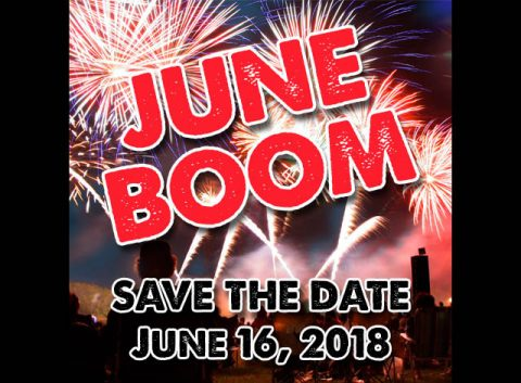 Fuse Fireworks to hold 2018 June Boom at Governor's Square Mall on Saturday, June 16th.