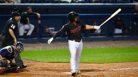 Franklin Barreto's Big Day Leads Nashville Honky Tonks to Victory over Round Rock Dance Halls. (Nashville Sounds)
