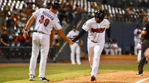 Nashville Sounds BJ Boyd's Late Homer Not Enough in Front of Near Capacity Crowd at First Tennessee Park. (Nashville Sounds)