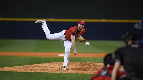 Nashville Sounds Bullpen Tosses a Season-High 7 2/3 Innings at Albuquerque. (Nashville Sounds)
