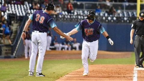 Battle for The Boot Series Even at Three Games Each. (Nashville Sounds)