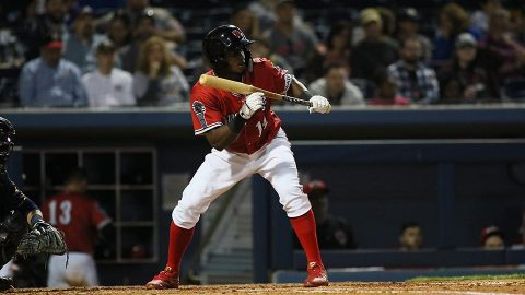 Nashville Sounds pulls out one-run victory in opener of nine-game trip. (Nashville Sounds)
