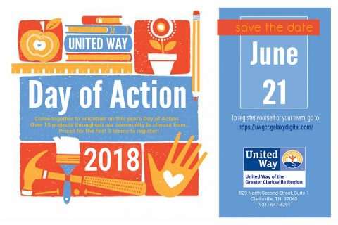 2018 United Way of Greater Clarksville Day of Action