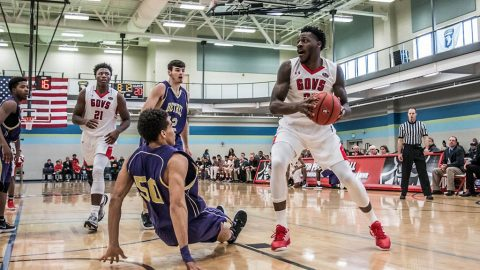 Austin Peay Men's Basketball defeats Bethel 90-58 at Fort Campbell's Shaw Physical Fitness Center. (APSU Sports Information)