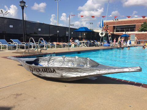"Lili Swann and Ward Jaeger named their boat ""Phinabella"" as a tribute to Disney's ""Phineas and Ferb."""