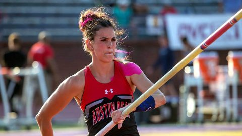 Austin Peay Track and Field's Savannah Amato. (APSU Sports Information)