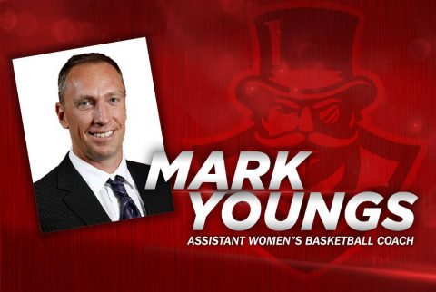 APSU Women's Basketball assistant coach Mark Youngs