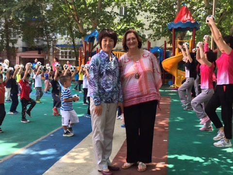 APSU professor Dr. Benita Bruster recruiting trip to China.