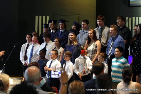 Academy for Academic Excellence held its 2018 commencement exercises at First Baptist Church.