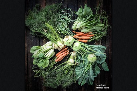 Many vegetables that are unfamiliar at farmers markets are actually items we already enjoy at restaurants.