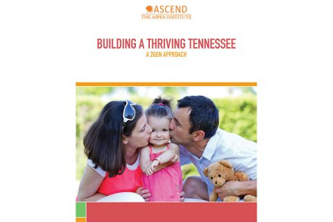 Report credits the state for being a national leader in the Two-Generation approach to helping parents and children.