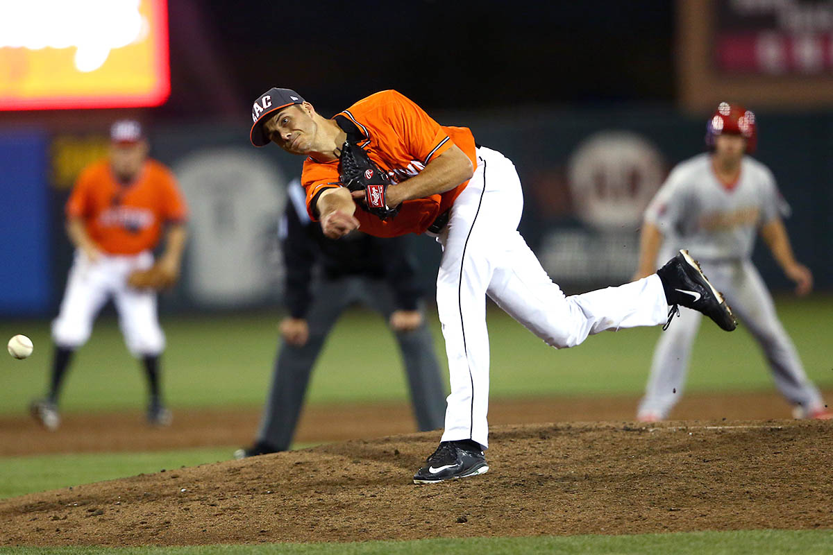Austin Peay State University alumnus Tyler Rogers with the Sacramento River Cats named to the Triple-A All-Star Game. (APSU Sports Information)