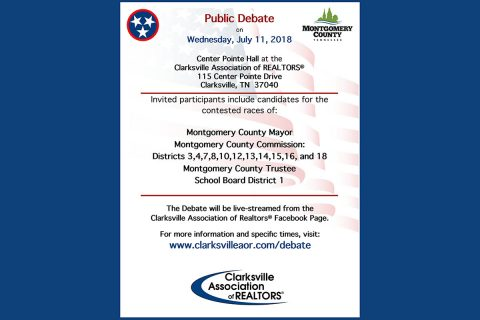 Clarksville Association of Realtors 2018 Public Candidate Debate