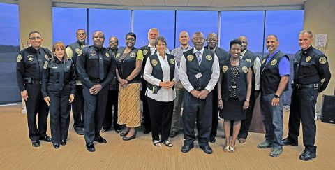 Clarksville Police Department recognizes Clergy Rapid Mobilization Team Volunteers