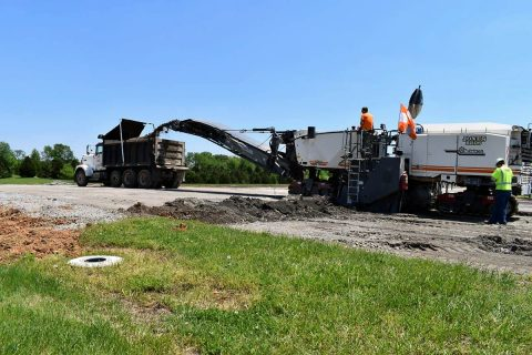 The $12.9 million runway reconstruction project at Clarksville Regional Airport began in early May with the complete milling and resurfacing of the airport's primary 6,000-foot runway. These upgrades will bring the airfield into full compliance with Federal Aviation Administration (FAA) standards.