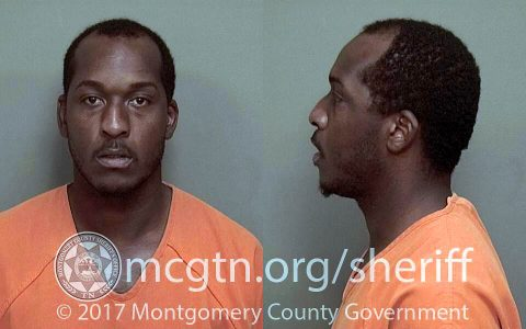 Darius Lavonte Moore pleads guilty to indecent exposure and will serve 30 days in jail according to Clarksville Police.