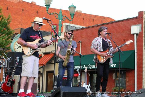 The Nightmasters opened the 2018 season of Jammin' In The Alley Friday, June 1st.