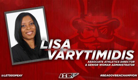 Lisa Varytimidis to serve as Austin Peay Interim Athletics Director. (APSU Sports Information)