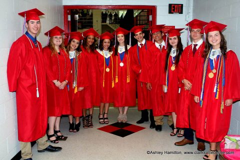 Montgomery Central High School's Class of 2018 held its commencement exercises at APSU's Dunn Center