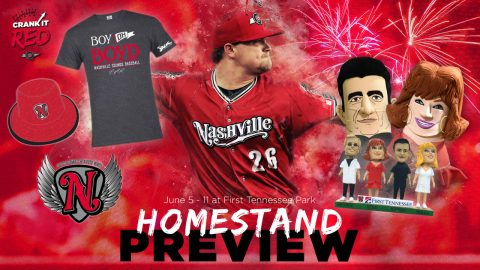 Nashville Sounds next Home Games feature Three Giveaways and Friday Fireworks. (Nashville Sounds)