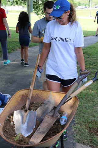 United Way Day of Action Volunteer