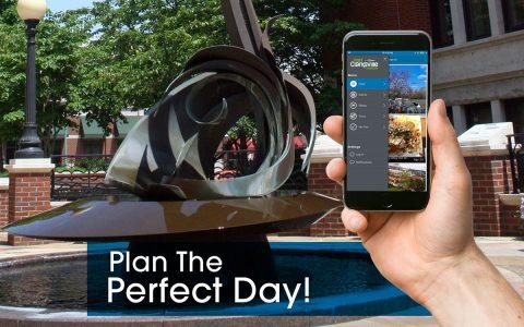 Visit Clarksville creates New App and Online Trip Planner for Clarksville.