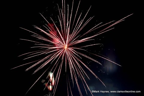 Clarksville's annual celebration includes music, fireworks.