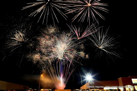 Hilltop Supermarket held their 1st annual Car and Fireworks show Friday night.