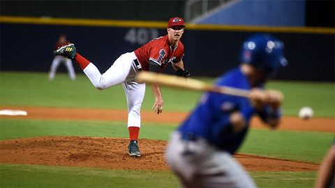 Daniel Mengden Picks up Win in Rehab Assignment with Nashville Sounds. (Nashville Sounds)
