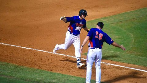 Nashville Sounds Belts Three Home Runs in Victory over Iowa Cubs. (Nashville Sounds)