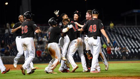 Ben Bracewell and Melvin Mercedes Lead Nashville Sounds to Series-Opening Win. (Nashville Sounds)