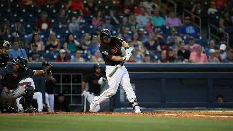 Nashville Sounds' Sheldon Neuse Extends Hitting Streak to a Career-Long 11 Games. (Nashville Sounds)