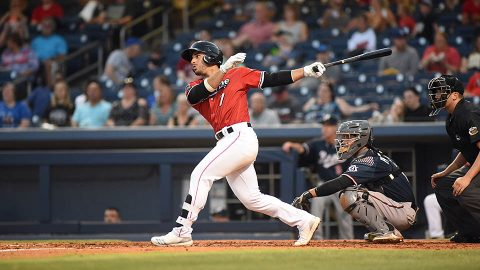 Nashville Sounds scores two in the 9th but ends game with bases loaded. (Nashville Sounds)