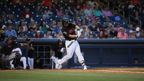 Nashville Sounds' losing skid hits four with Game 2 loss to Salt Lake Bees. (Nashville Sounds)